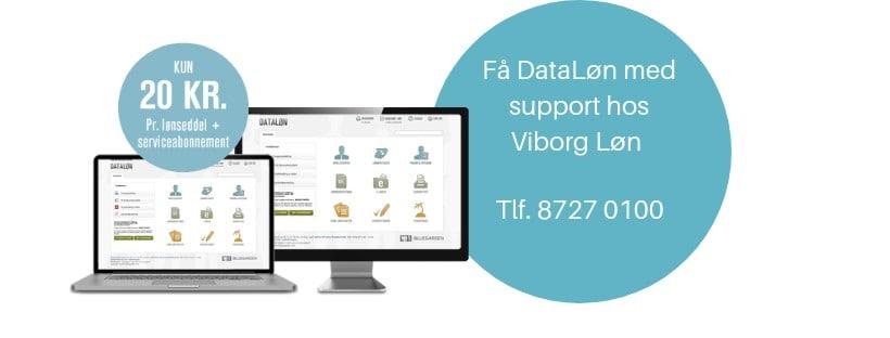 Få DataLøn med support hos Viborg Løn