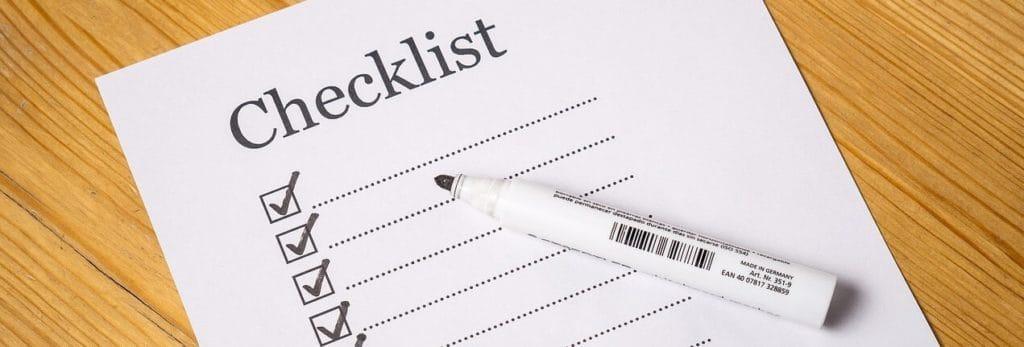 Tjekliste til udvælgelse af ansøgere