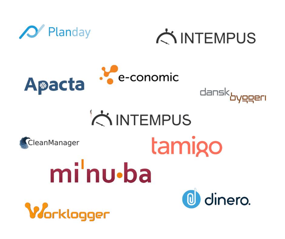 Løn og tidsregistreringssyster der er integrerbar med DataLøn